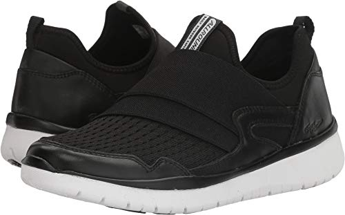 Allrounder by Mephisto Womens Lacapa Slip On Sneaker Shoes, Black/Black, US 9 ()
