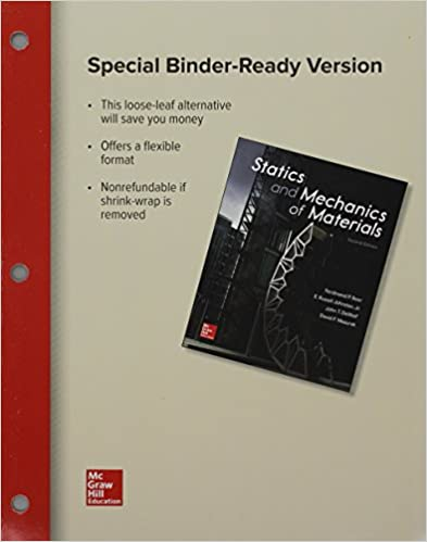 Loose leaf for statics and mechanics of materials ferdinand p loose leaf for statics and mechanics of materials 2nd edition fandeluxe Choice Image