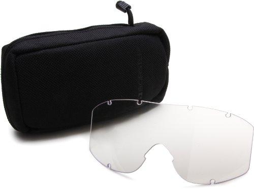 Bobster Alpha Ballistics Goggles, Black Frame/Smoke & Clear Lenses by Bobster Eyewear (Image #6)