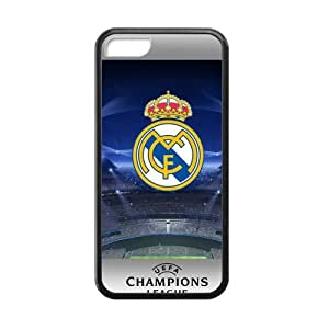 New Style Custom Picture Real Madrid Logo Cell Phone Case for Iphone 5C