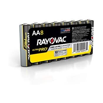 Amazon.com: Rayovac Fusion AA Batteries, Premium Alkaline