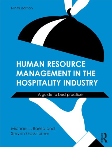 Human Resource Management in the Hospitality Industry: A Guide to Best Practice (Best Hr Practices In Hotel Industry)