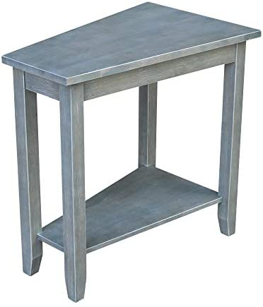 International Concepts 24 in. Accent Table in Gray