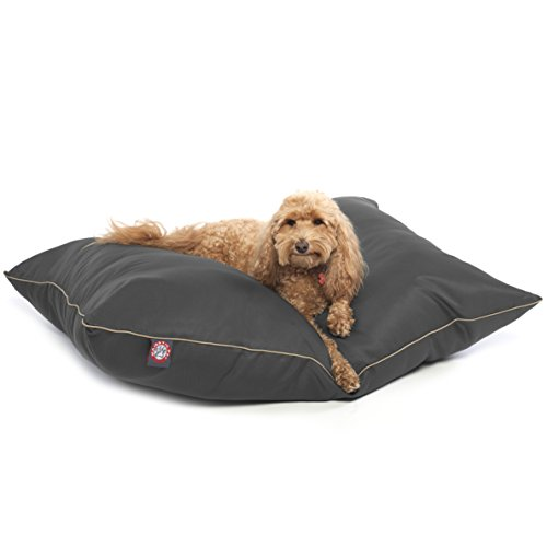 Majestic Pet Super Value Medium Pet Dog Bed, 28'' x 35'', Gray, Gray by Majestic Pet