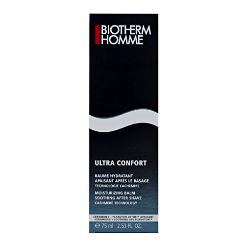 Biotherm Homme Ultra Confort Soothing After Shave Moisturizing Balm for Unisex, 2.53 Ounce