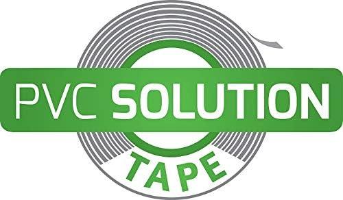 Tear Solution PVC-Solution-Tape Reparaturklebeband//First aid f/ür PVC /& Vinylmaterialien 28 x 7,6 cm