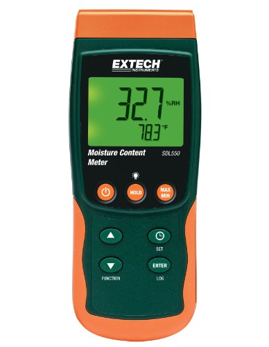 Price comparison product image Extech SDL550 Moisture Content Meter
