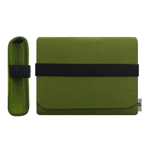 Amazon litop green color 6254816 inches carrying felt litop green color 6254816 inches carrying felt sleeve case bag travel stopboris Gallery