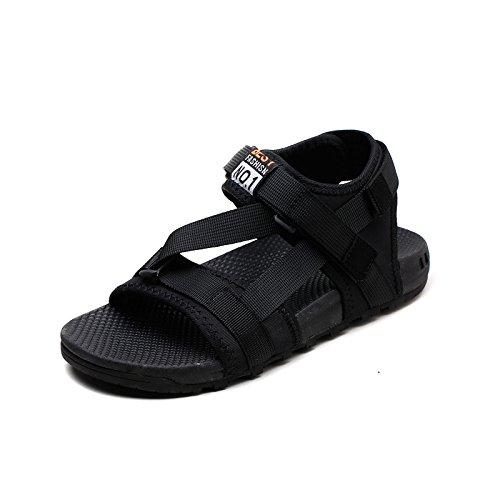 ZPPZZP La sig.ra sandali fondo piatto selvatica di stile Coreano studenti 35EU grigio