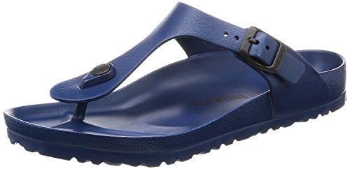 Birkenstock Women's Gizeh Navy EVA Sandals 38 (US Women's - Waterproof Sandals Blue