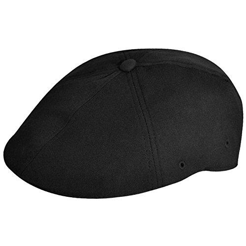 Kangol Unisex-Adult's Wool Flexfit 504 Cap, black, L/XL