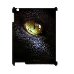 Black Cat Custom 3D Case for Ipad 2,3,4, 3D Personalized Black Cat Case