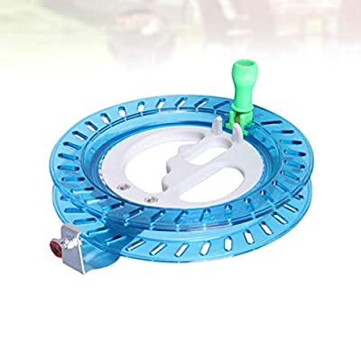 SUPVOX Outdoor Kite Line Winder Winding Reel Grip Wheel Flying Tools for Kids and Adults 16cm (Sky-Blue): Toys & Games