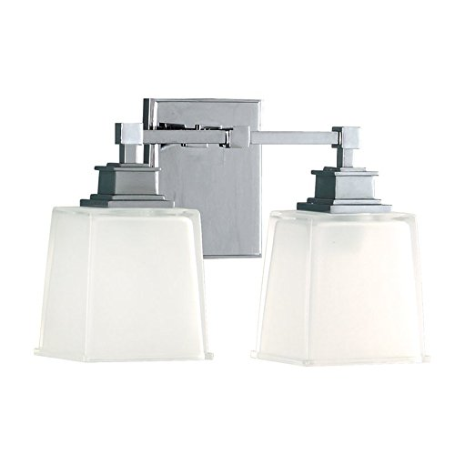 Hudson Valley Lighting 1952-PC Two Light Bath Bracket from The Berwick Collection, 2, Polished Chrome