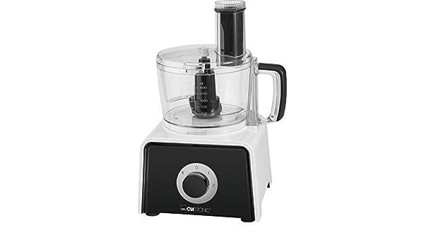 Clatronic KM 3645 600W 1.5L, Color Robot de cocina (1,5 L, Negro ...