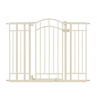 Summer Multi-Use Deco Extra Tall Walk-Thru Gate, Beige (28.5 - 48 Inch)