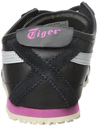 Onitsuka Tiger Vrouwen Mexico 66 Fashion Sneaker Zwart / Zacht Grijs
