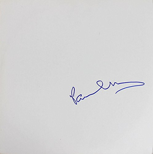 Paul McCartney Signed The Beatles White Album Cover W/Vinyl #Z53123 - JSA -