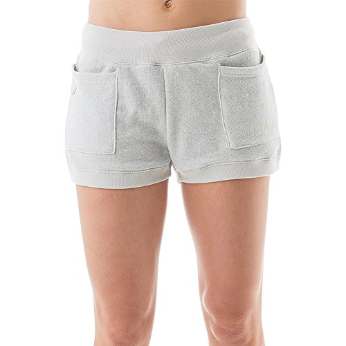 Asics Womens Beach Volleyball Lounge Short S Heather Grey ()