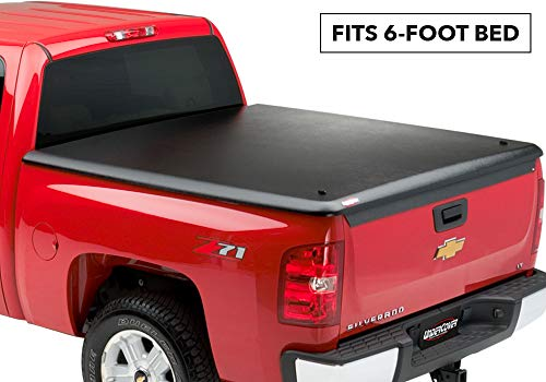 - UnderCover Classic One Piece Truck Bed Tonneau Cover | UC1050 | fits 2004-2012 Chevrolet Colorado/ GMC Canyon, 6ft Short Bed, Std/Ext