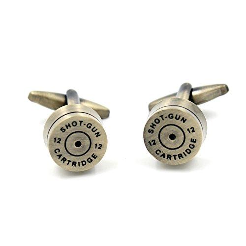 Vcufflinks Bullet Shell Casing Pair Cufflinks (Bullet Shell Cufflinks)
