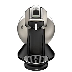 Nescafe Dolce Gusto by Krups KP2509 Creativa Coffee Machine, Titanium