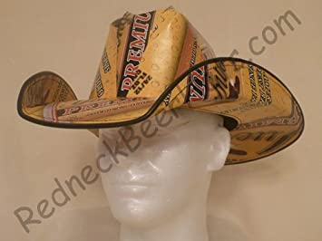 f55026e3970 Image Unavailable. Image not available for. Color  Beer Case Cowboy Hats  Made From Recycled ...