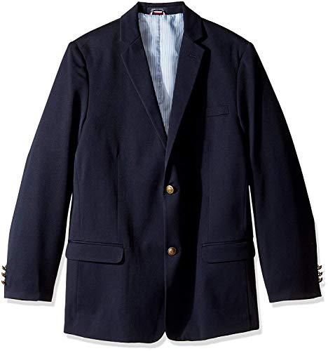 Tommy Hilfiger Boys' Little Classic Blazer Jacket, Masters Navy, 7