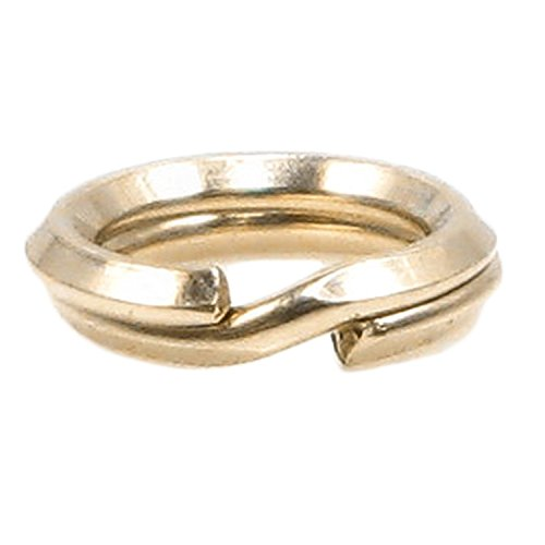 14k Gold Filled Split Rings - 10pcs 14k Gold-filled Split Rings 22 Gauge Wire, 5.2mm
