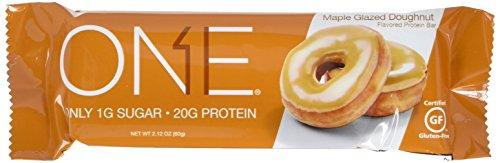 Oh Yeah! One Bar Doughnut, Maple Glazed, 12 Count