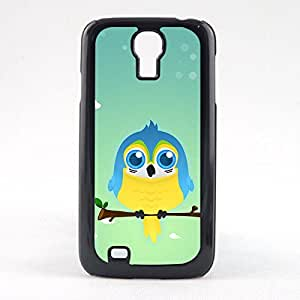Case Fun Case Fun Blue & Yellow Macaw Parrot by DevilleART Snap-on Hard Back Case Cover for Samsun Galaxy S4 Mini (I9190)