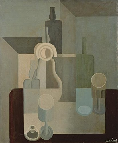 Oil Painting 'Amedee Ozenfant,Still Life,Dishes,1920', 16 x 19 inch / 41 x 49 cm , on High Definition HD canvas prints is for Gifts And Hallway, Home Office And Nursery Decoration, graphy (Barbara Jones Quilt Patterns compare prices)