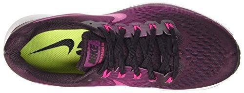 Pink tea Air 34 Wine Berry 603 port Mujer Pegasus Running De black Zoom Nike Zapatillas deadly Multicolor Para OUq6dFWx
