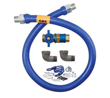 Dormont Manufacturing 1675KITCF60 Dormont Blue Hose Moveable Gas Connector Kit