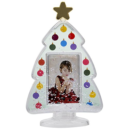 Neil Enterprises, Inc Christmas Tree Photo Snow Globe ()