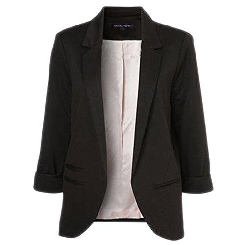 AngelaXie Korea Style Women's Blazer Jacket Suit Work Casual