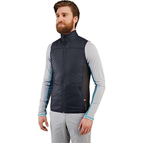 Merrell Men's Enthermic Hybrid Vest, Black, Medium