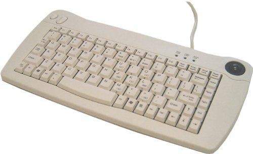 Adesso ACK-5010UW-00 Mini Trackball USB Keyboard