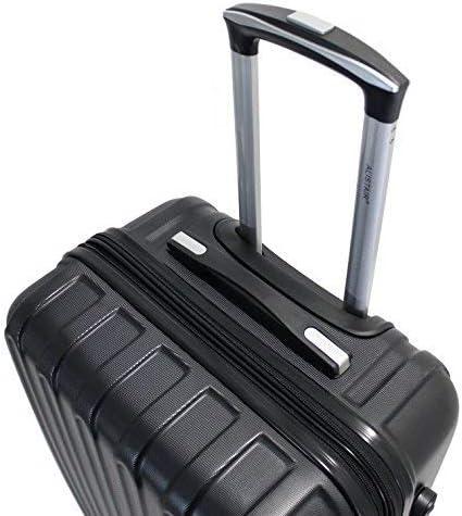 ALISTAIR S/écure Valise Grande Taille 75cm ABS Ultra l/ég/ère et r/ésistante Jade Huang Marque fran/çaise 4 Roues