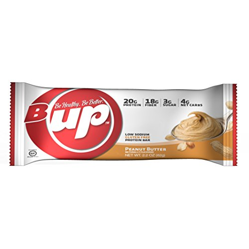 B-UP Protein/Nutritional Bar, Peanut Butter, 12 Count