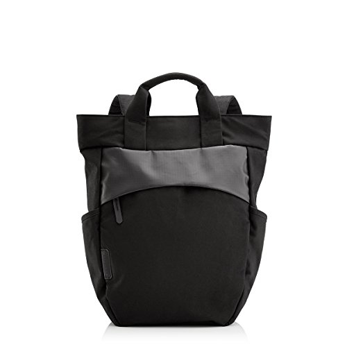 """Crumpler Hybrid Tote-Style Bag With 13"""" Padded Laptop Compartment, Black"""
