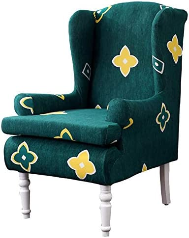 Anchengcraft Wing Chair Slipcovers-2 PCS Spandex...