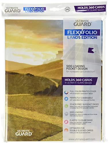 Ultimate Guard Binder 9-Pocket Flexxfolio Lands Edition Plains Collectible Card Protection