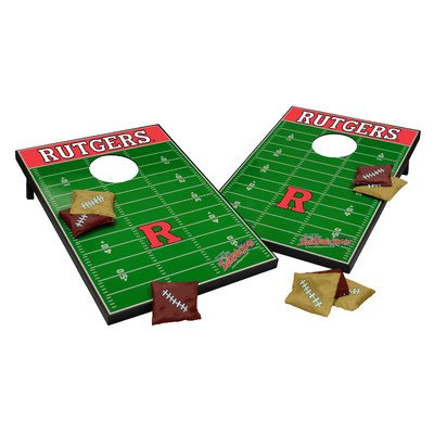 NCAA Cornhole Game Set NCAA Team: Rutgers Scarlet Knights by Tailgate Toss