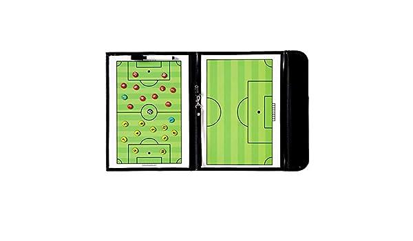 Sopear Plegable Portátil Erasable Magnético Portapapapeles Fútbol ...