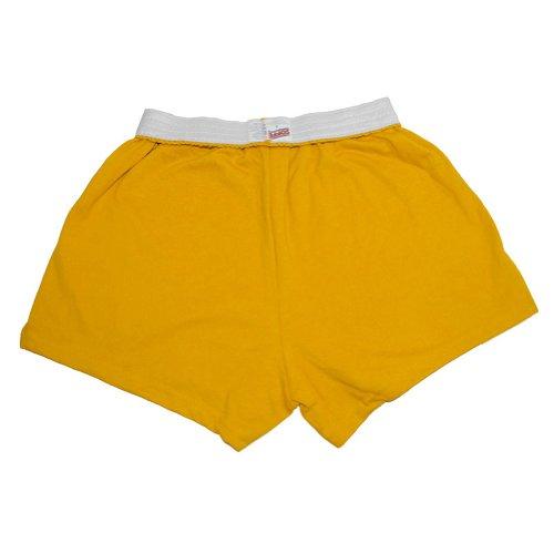 (Soffe Juniors' Jersey Short (Gold) (Small))