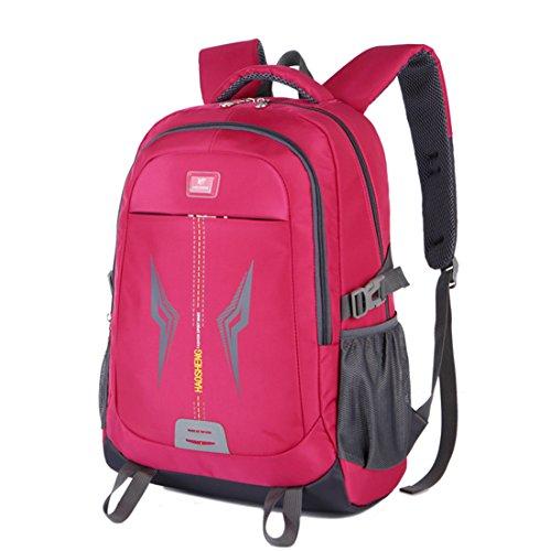 Dunland aux sac Backpack sport Sac dos à résistant imperméable Magenta étudiants livre basiques gym Toile de rCqr0