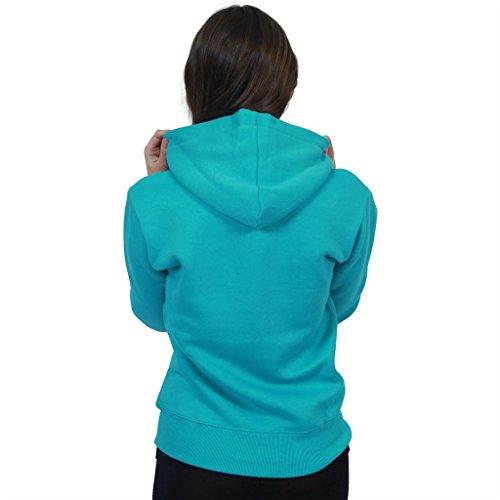 Taille Capuche Turquoise 8 Couleurs Hiver Haut 22 Fermeture Veste Grande Uni Polaire 21 Poches Manches Cardigan Sweat Fashionchic Femmes 2 Éclair Longues BpqqPz