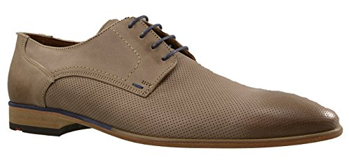 Lloyd Dante grau Halbschuhe Herrenschuhe Businessschuh Echtleder Schuh 15-041-11