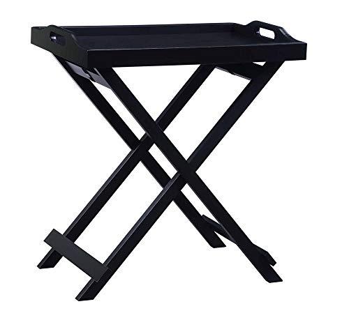 Convenience Concepts Designs2Go Tray Table, Black